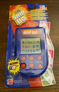 Skip-Bo Handheld Electronic Pocket Game Mattel Rare 2002 NIB Factory Sealed Fun