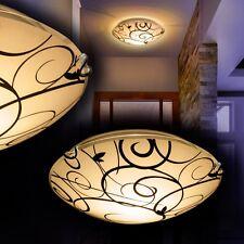 Plafonnier Luminaire Lustre Lampe à suspension ronde Lampe de salon Verre 135645