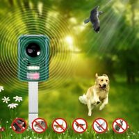 MaximalPower Yard Sonic Solar Dog Cat Bird Mouse Rodent Pest Repeller Adjustable