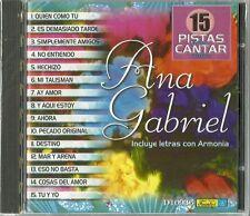 15 Pistas Para Cantar Como Ana Gabriel  Latin Music CD New