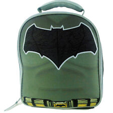 BATMAN DAWN of JUSTICE DC COMICS Boys Lead-Free Insulated Lunch Tote Box Kit NWT