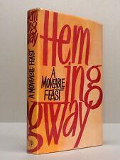 A MOVEABLE FEAST - Ernest Hemingway (1964 UK 1st Ed) + dust wrapper Paris memoir