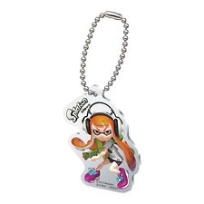 Splatoon Orange Female Inkling with Gun Acrylic Key Chain Anime Licensed MINT