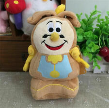 New Moive Beauty and the Beast Cogsworth Clock Bean Plush Toy Soft Stuffed Doll