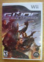 G.I. JOE THE RISE OF COBRA NINTENDO WII VIDEO GAME COMPLETE SEALED