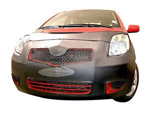 Fits Lebra 2 piece Front End Cover Black TOYOTA,YARIS,,HATCHBACK,2007 2008 Car Mask Bra