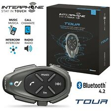 CELLULARLINE INTERPHONE TOUR KIT INTERFONO CASCO MOTO SCOOTER BLUETOOTH 1.5Km