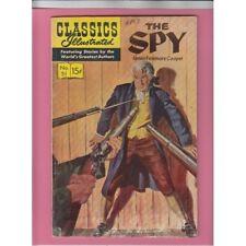Classics Illustrated #51 The Spy/James Fenimore Cooper Hrn167