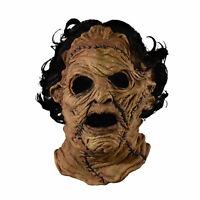Leatherface Texas Chainsaw Massacre 3D Adult Men's Halloween Costume Latex Mask