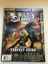 Versus Books Wild Arms 2 Official Perfect Strategy Guide w/ POSTER RPG (PS2)