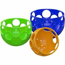 O Ball Scoop 'N Spill Baby Fill and Pour Fun Bath Toy, 3 Pieces, Multicolored