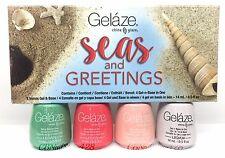 Gelaze by China Glaze - Gel-n-Base In One - SET OF 4 COLORS Seas and Greetings