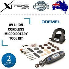 Dremel 8V MAX Li-Ion Cordless Micro Rotary Tool Kit