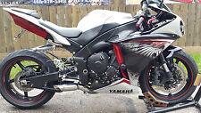2009 - 2014 Yamaha YZF-R1 slip on RLS Exhaust  Kaos Series polished