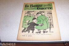 REVUE SATIRIQUE LA BONNE GUERRE 23 mars 1935 CARB