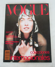 VOGUE Nº 24 (1990): TATJANA PATITZ! Hard to Find! SPAIN, MAGAZINE, REVISTA.