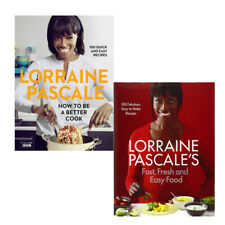 Lorraine Pascale Cooking Collection, 2 Books Set (Fast, Fresh and Easy Food)