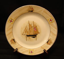 "Saling Boat By Winpat SALAD PLATE 7 1/8"""
