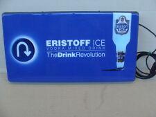 INSEGNA LUMINOSA VODKA ERISTOFF ICE MIXED DRINK OLD SIGN BAR ITALY