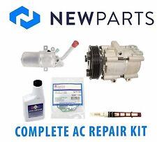 For Ford Focus 2000-2002 SOHC Complete A/C Repair Kit OEM Compressor & Clutch