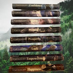 New Elements Incense sticks by Lisa Parker  20 sticks stunning fragrances