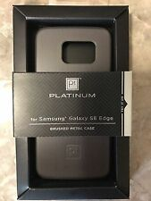 NEW platinum case for Samsung Galaxy S6 edge - Retail Packaging - metal