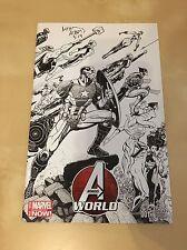 Avengers World #1 Arthur Adams Variant Signed NM