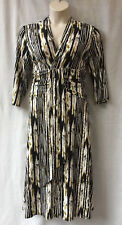 Stitches Size 18 Dress NEW 3/4 Sleeve Stretch Work Corporate Evening Occasion