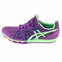 ASICS Womens Gel-Cumulus Running Shoes Purple Green Low Top Lace Up 7 M New