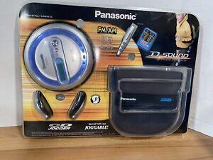 NEW Factory Sealed Panasonic SL-SV573J Portable CD AM/FM MP3 Player Jogger Set