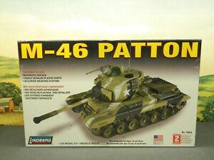 1:35 Kit Lindberg No. 76002 US ARMY M-46 PATTON TANK New Sealed Box
