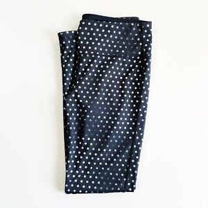 ATHLETA Women's Legging Size M Crystal Chaturanga Reversible Tight Polka Dot