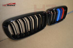 DOUBLE SLAT COLOUR KIDNEY GRILL FOR BMW X5 F15 X6 F16 F85 F86 2014 2017 X5M