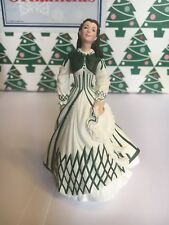 Scarlett O'Hara Cream Dress Christmas Gone Wind Hallmark Keepsake Ornament NIB