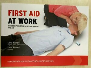First Aid at Work Guidance Manual Training Book Compliant