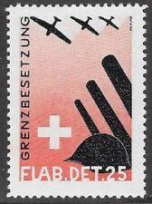 Switzerland Soldier stamp: Fliegerab/Air Defense, FLAB #15: Flab.Det.25 - sw601d