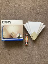 Art Deco style Wall Lights x 2 Philips Wall Lights - Chrome Effect