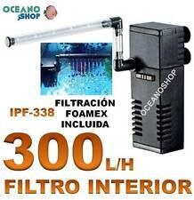 FILTRO INTERIOR 300L/H 5W ACUARIO ACUARIO TORTUGUERA