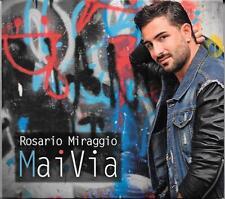 """ROSARIO MIRAGGIO - CD CON AUTOGRAFO """" MAI VIA """""""