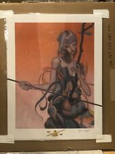 """James Jean """"ERHU"""" Limited Edition Giclee. Signed and Numbered. (SOLDOUT)"""