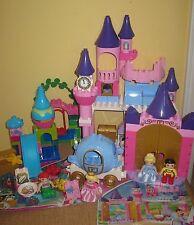 Lego Duplo Cinderella Castle~carriage Prince Disney Ariel Aurora Beauty Mermaid
