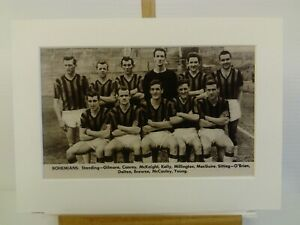 Amateur football team print BOHEMIANS F.C.