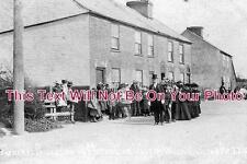 HF 12 - Markyate. Funeral Of Car Crash Victim, Hertfordshire 1905 - 6x4 Photo
