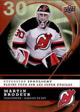 2008-09 McDonald's UD Superstar Spotlight #IS14 Martin Brodeur (ref 18398)