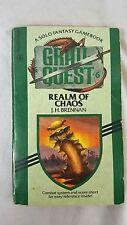 Grail Quest #6: Realm of Chaos J.H. Brennan Solo-RPG CYOA Adventure Gamebook 004