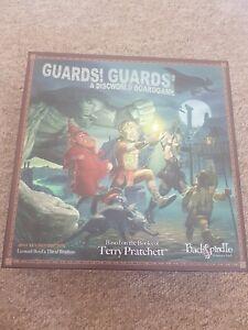 Rare Terry Pratchett Board Game Guards! Guards! 2011. Unplayed. Discworld