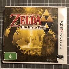 Legend of Zelda: A Link Between Worlds - Nintendo 3DS - Cart and Case - PAL AUS
