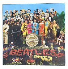 "PAUL McCARTNEY Original Signed Autograph BEATLES ""Sgt Pepper's"" Album Cover COA"