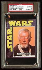 BEN Obi-Wan KENOBI 1977 Star Wars ADPAC General Mills Cereal Sticker  PSA 10