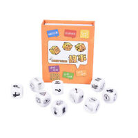 9pcs Story Dice Puzzle Board Game Telling Story Children Funny English Gam_gu